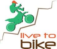 Live To Bike Royalty Free Stock Photos