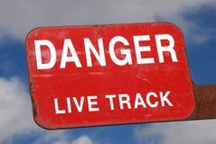 Live Track Stock Photo
