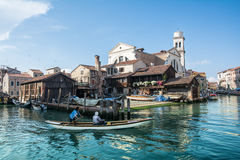 Live in venice Royalty Free Stock Photography