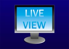 Live View Royalty Free Stock Image