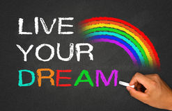 Free Live Your Dream Stock Photography - 43815562