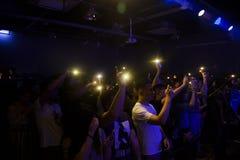 Livehauslicht stockfotos