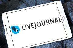 LiveJournal Social networking service logo Stock Photos