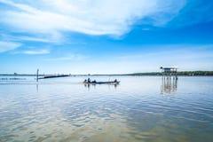 Livelihoods of fishermen Royalty Free Stock Photos