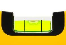 Livella a bolla verde Fotografie Stock
