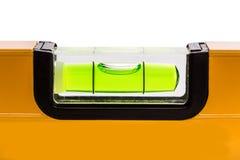 Livella a bolla verde fotografia stock libera da diritti