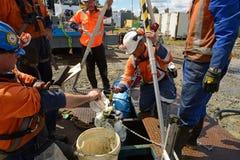 Livelli del metano fotografia stock libera da diritti