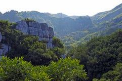 Livello nelle montagne Fotografia Stock Libera da Diritti