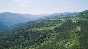 Livello nelle montagne Immagini Stock Libere da Diritti