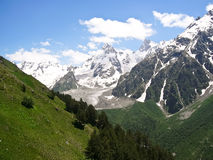Livello nelle montagne in estate Fotografia Stock