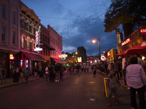 Free Lively Beale Street In Memphis Tennessee USA Royalty Free Stock Photography - 83776057