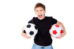 Lively boy Royalty Free Stock Photo