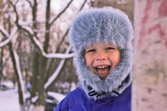 Lively child Royalty Free Stock Photography