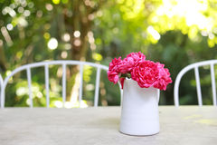Lively flower. Flower on the table make the different feeling Royalty Free Stock Photos