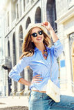 Lively girl Stock Photography