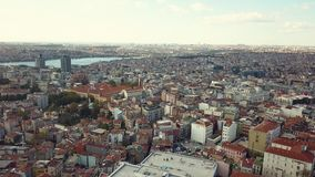 Lively istanbul turkey on a sunny day Royalty Free Stock Image