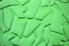 Lively neongreen figures - Rubber Texture, Background stock photo