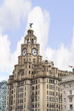 The Liver Birds on the Liver Building In Liverpool England Stock Image