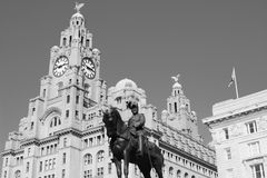 Liver building Liverpool Stock Image