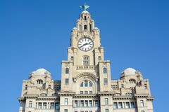 Liver building Liverpool Royalty Free Stock Photos