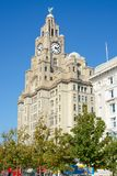 Liver Building Liverpool Royalty Free Stock Image