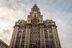 Liver Building. The Royal Liver Building, Liverpool royalty free stock image