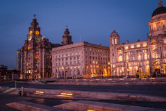 Liver Building. The Royal Liver Building, Liverpool royalty free stock images