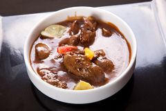 Liver Chicks Soup Royalty Free Stock Photo