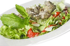 Liver dish Stock Photography