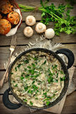 Liver Stroganoff Royalty Free Stock Photos