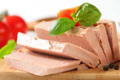 Liver mousse Royalty Free Stock Images
