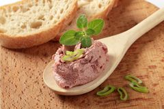 Liver pate Stock Image