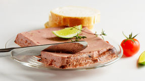 Liver pate Royalty Free Stock Images