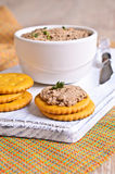 Liver pate Royalty Free Stock Photography