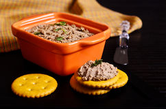 Liver pate Royalty Free Stock Image