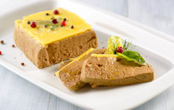 Liver pate Stock Photography