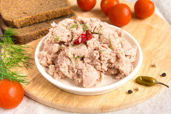 Liver pate Stock Photos