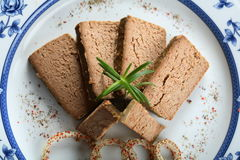Liver pie Stock Images