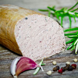 Liver sausage Royalty Free Stock Photos