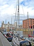 Liverpool. And Merseyside, UK royalty free stock photography