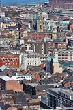 Liverpool aerial view Royalty Free Stock Photography