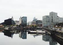 Liverpool Albert Dock Stock Fotografie