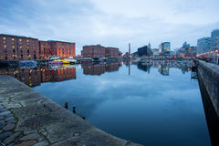 Liverpool Albert Dock, England, UK royaltyfri bild