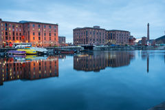 Liverpool Albert Dock, England, UK arkivfoto