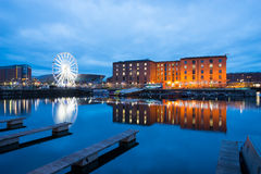 Liverpool Albert Dock, England, UK royaltyfria bilder