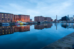 Liverpool Albert Dock, England, UK royaltyfri foto
