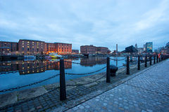 Liverpool, Albert Dock, England, UK Royalty Free Stock Photo