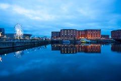 Liverpool, Albert Dock, England, UK Royalty Free Stock Photos