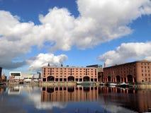 Liverpool Albert Dock i Merseyside England arkivfoto