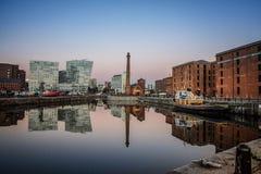 Liverpool Albert Docks Fotos de archivo